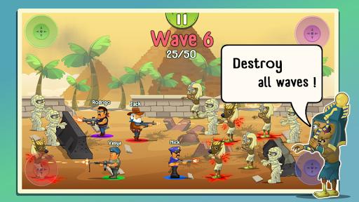 Four guys & Zombies (four-player game) 1.0.2 screenshots 9