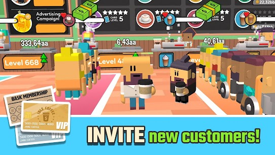 Idle Coffee Corp (MOD, Unlimited Money) 4