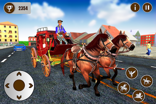 Flying Horse Taxi City Transport: Horse Games 2020 apkdebit screenshots 5