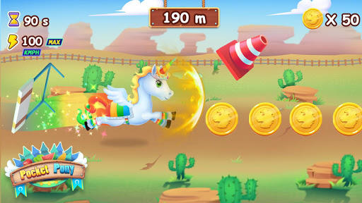 🦄🦄Pocket Pony - Horse Run screenshots 1
