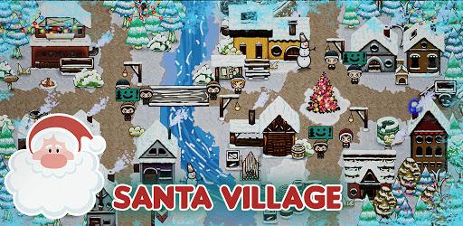 Games for kids: Xmas Christmas Village  screenshots 1