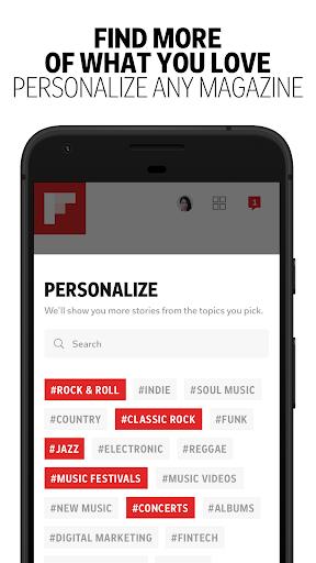 Flipboard - Latest News, Top Stories & Lifestyle 4.2.65 Screenshots 4