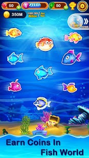 Merge Fish - Free Idle & Merge Games Screenshot