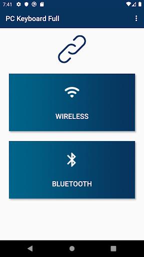 Foto do PC Keyboard WiFi & Bluetooth (+ Mouse | Track pad)