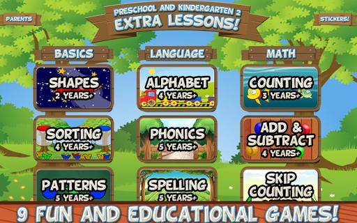 Preschool and Kindergarten 2: Extra Lessons  screenshots 1