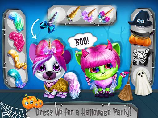Kiki & Fifi Halloween Salon - Scary Pet Makeover  Screenshots 13