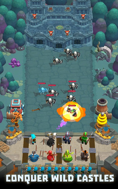 Wild Castle TD: Grow Empire Tower Defense in 2021  poster 6