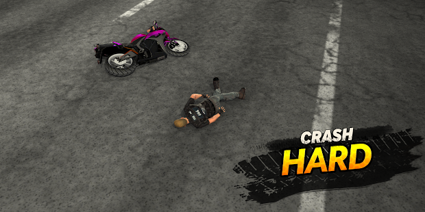 Highway Rider Motorcycle Racer Screenshot