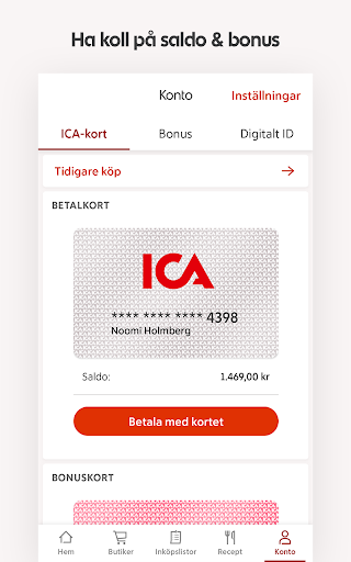 ICA – recept, erbjudanden och inköpslista  screenshots 7