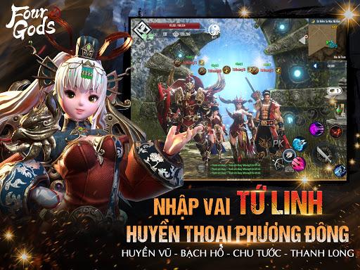 Four Gods M - Tứ Hoàng Mobile apkmartins screenshots 1