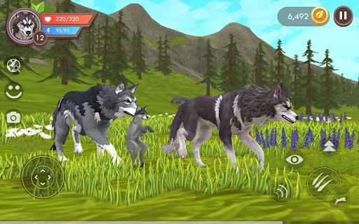WildCraft: Sim sauvage en ligne 3D  APK MOD (Astuce) screenshots 1