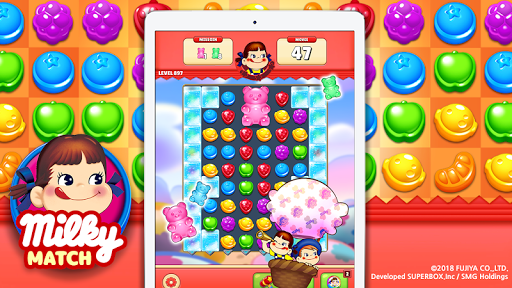 Milky Match : Peko Puzzle Game screenshots 11