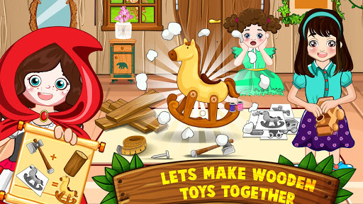 Mini Town: Red Riding Hood Fairy Tale Kids Games modavailable screenshots 1