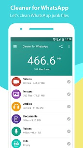 Cleaner for WhatsApp 9
