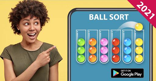 Ball Sort Puzzle - Color Sorting Balls Puzzle 1.1.0 screenshots 16