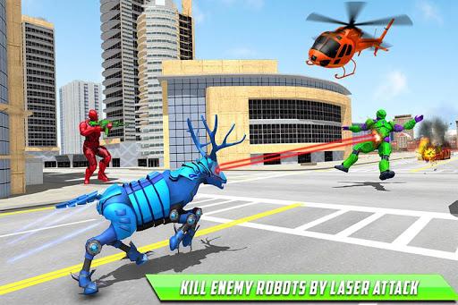 Deer Robot Car Game u2013 Robot Transforming Games 1.0.7 screenshots 6