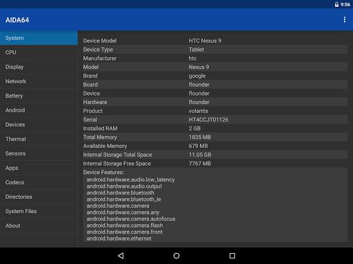 AIDA64 android2mod screenshots 17
