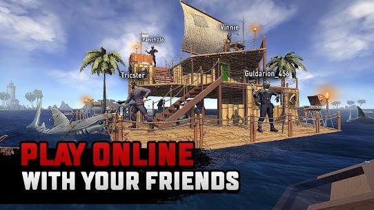 Raft Survival Multiplayer Mod Apk 1 7