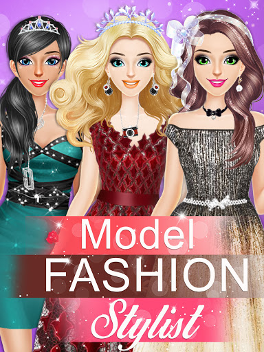 Model Fashion Stylist: Dress Up Games  screenshots 1