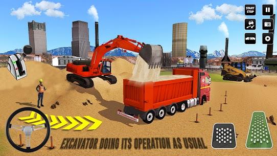 Kent İnşaat Simülatör: Forklift Kamyon Oyun Full Apk İndir 4