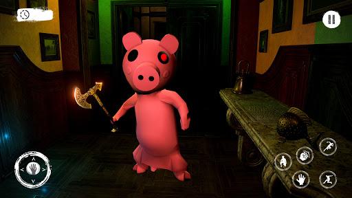 Piggy Family 3D: Scary Neighbor Obby House Escape screenshots 4