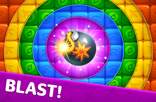 Traveling Blast: Match & Crash Blocks with Friends  screenshots 13