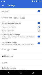Notification Cleaner & Blocker & Screen Lock Screenshot