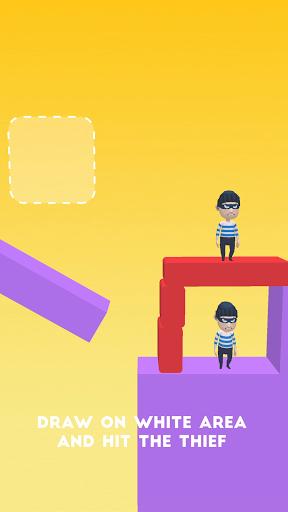 Draw & Hit: Kick the Robber! apkdebit screenshots 8