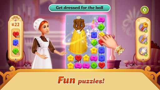 storyngton hall: design games, match 3 in a row screenshot 2