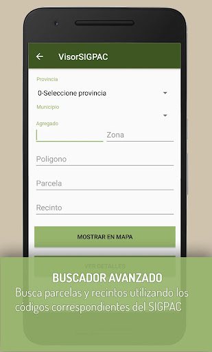 VisorSIGPAC - Libreta de campo  screenshots 2