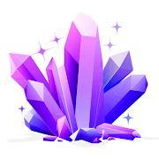Magic Crystals: 2048 3D Merge Game