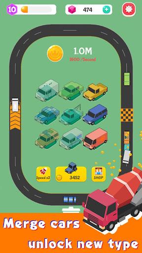 Merge Highway - Merge & Idle Motor Empire  screenshots 13