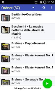 Opus 1 Music Player Screenshot