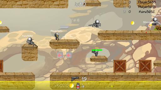 Stickman Multiplayer Shooter 1.092 screenshots 3