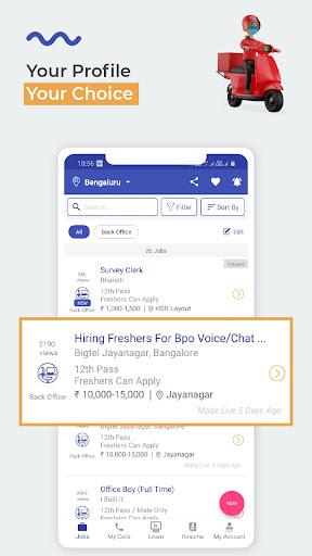 WorkIndia Job Search App - Work From Home Jobs apktram screenshots 4