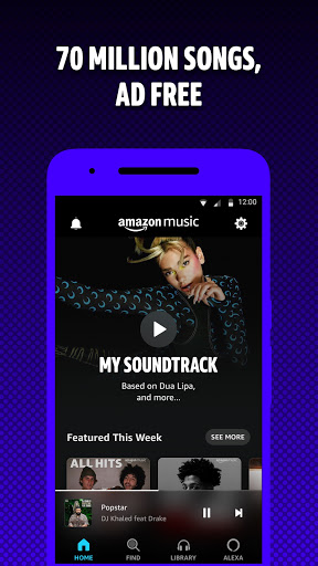 Amazon Music: Stream and Discover Songs & Podcasts  screenshots 1