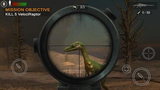 dino fps shooter – dinosaur shooting 2020 screenshot 1