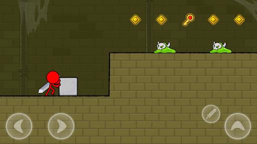 Red Stickman : Animation vs Stickman Fighting android2mod screenshots 2