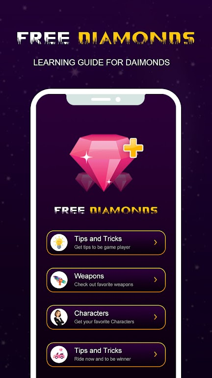 Guide and Free Diamonds for Free poster 4
