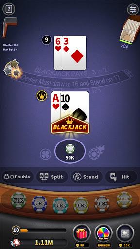 BlackJack 21 - blackjack free offline games 1.5.2 screenshots 5