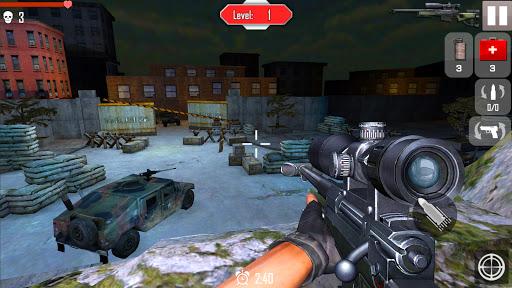Télécharger Gratuit Sniper Ops: City Shooting Wars mod apk screenshots 3