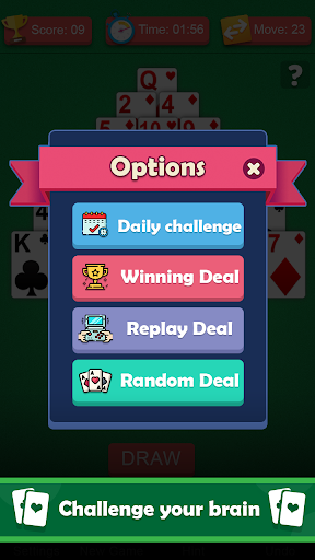 Pyramid solitaire games for free - solitaire 13 1.0 screenshots 2