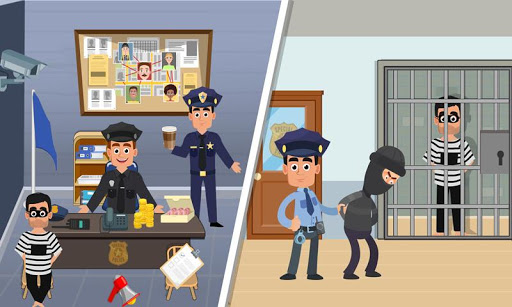 Pretend Play My Police Officer: Stop Prison Escape 1.0.3 screenshots 2