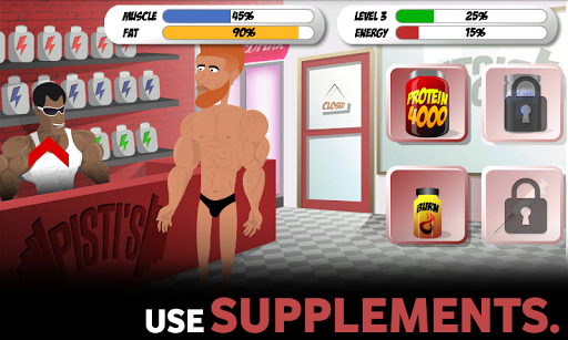 Bodybuilding and Fitness game - Iron Muscle apkpoly screenshots 9