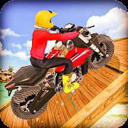 Mega Ramp Bike Racing 3D : Impossible Tracks 2021
