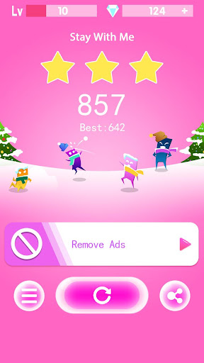 Kpop Piano Games: Music Color Tiles 2.7 screenshots 8