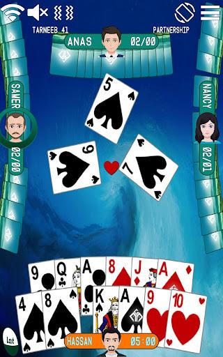 Golden Card Games (Tarneeb - Trix - Solitaire) 21.0.1.25 Screenshots 6