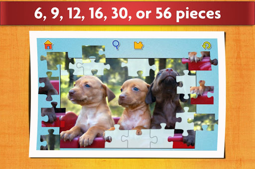 Dogs Jigsaw Puzzles Game - For Kids & Adults ud83dudc36 screenshots 3