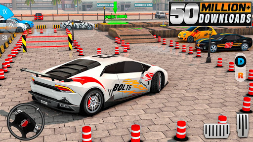 Modern Car Drive Parking Free Games - Car Games 3.87 Screenshots 7