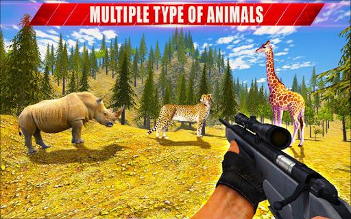 Animal Hunting Sniper Shooter: Jungle Safari filehippodl screenshot 23